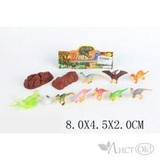 Игрушка YD01 Набор Динозавры в пакете Затерянный мир /0 /0 /30 /0
