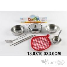 Набор 22-1C Посуды метал. в пакете Поварёнок /1 /0 /120 /0