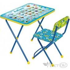 Комплект мебели с азбукой (стол+стул) КП2/9 Ника