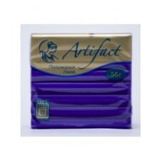Пластика 6792 (пластилин отверждаемый) брус 56 гр. классический фиолетовый Артефакт /0 /0 /0 /0