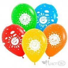 Шарик возд. латекс. 612091-12 Солнечное настроение Ассорти Пастель S12