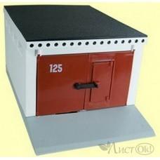 Набор Гараж с распашными воротами (Для масштабных моделей) С-191-Ф Форма