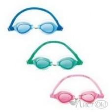 Спорт Очки для плавания от 3 лет 3 цвета 21084 Bestway