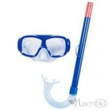 Спорт Маска с трубкой для плавания от 3 лет 2 цвета 24036 Bestway