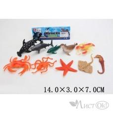 Набор Морских животных в пакете 661-14 Затерянный мир