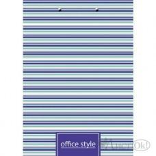 Папка -Планшет А4ф с метал. зажимом мат. ламинация-Office Style- Пп4л_18328 Hatber
