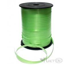 Лента декоративная зеленая, 5мм*500м ЛД-1965 Миленд