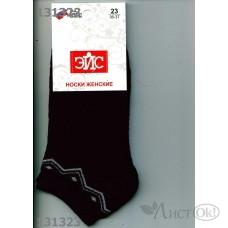Носки женские укор. Плюш, т.синие, р25 Д132П ЭЙС