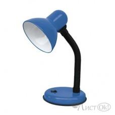 Светильник ASD IN-HOME СНО-12С на основании 60Вт E27 синий