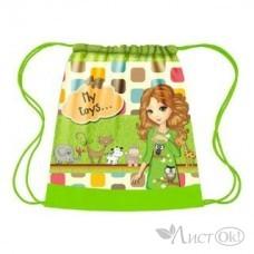 Мешок для обуви 1отд. 420*340 СДС-3 Мои игрушки Пчелка