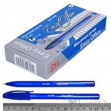 Ручка масляная проз.корп, трехгранная, 0,7мм,в к/к 1122 EasyOffice