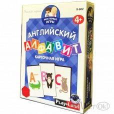 Игра карточная Английский алфавит 4-8 лет R-602 Play Land