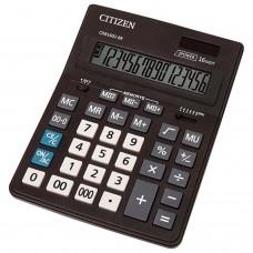 Калькулятор настол. 16 разр. 200*157*35мм CDB1601BK CITIZEN