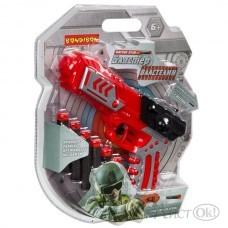 Бластер «ВЛАСТЕЛИН», в наборе 6 серых мягких пуль, в ассорт.BLISTER 25,6х5х21,5см ВВ4018 BONDIBON