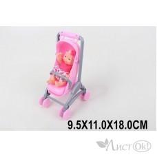 Кукла -Пупс 9см в коляске в пакете KY585-126 Кукольная Страна