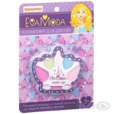 Детская косметика. Набор корона с тенями для век (CRD 12,6х17,2см) ВВ1752 (70534A) Bondibon Eva Moda