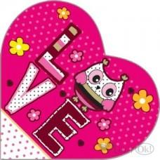 Валентинка LOVE мини 70*70 37769 Русский дизайн