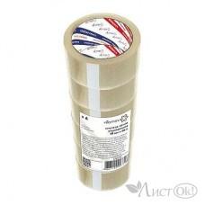 Клейкая лента 48*66 прозр., 45 мк картонная втулка 4164718 Attomex