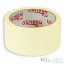 Клейкая лента малярная 38*40Y белая 38мк ЧЕЛ02206 (09216/09212) Uniterm