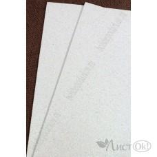 Фоамиран глиттерный лист А4 2мм самоклеющ. белый №017 807-34