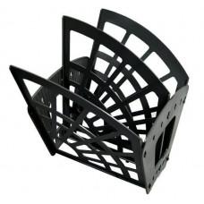 Лоток для бумаг -веер вертик./гориз.3 секции, 2 отделения, «Эконом», черный ЛТ410 Стамм