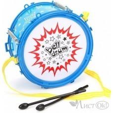 Барабан 17см в пакете 6699-25B Веселые Нотки