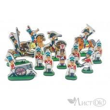 Набор деревянных солдатиков