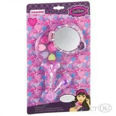 Детская косметика. Набор косметичка-зеркальце с ручкой, раздвижная ВВ2269 (70533I) Bondibon Eva Moda
