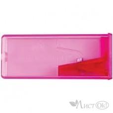 Точилка пластиковая  с контейнером флуор. 581525 Faber Castel