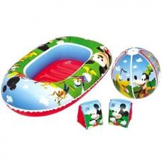 Надувка Лодка надувная мяч, нарукавники 91017EU Bestway