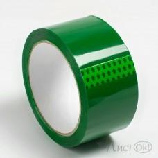 Клейкая лента 48*60 , упаковочный зеленый, 43 мк S483ЮБ302956/483ПБ302956 Логард