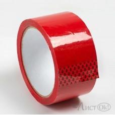 Клейкая лента 48*60 , упаковочный красный, 43 мк S48КЮБ302956/48КПБ302956 Логард