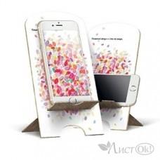 Подставка д/сотов. телефона 100*200 мм из фанеры с принтом 7468 Лакарт Дизайн