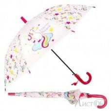 Зонт -трость 50 см купол прозрачный