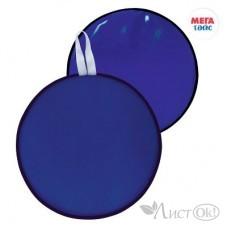 Ледянка мягкая диаметр 35см, цвет: т.синий МТ14117 Мега Тойс