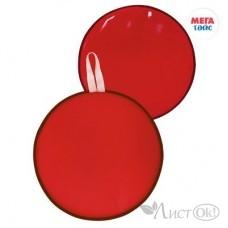 Ледянка мягкая диаметр 35см, цвет: красный МТ15117 Мега Тойс