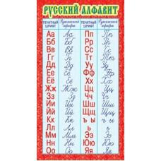 Карточка Запомни! Русский алфавит (формат 200х107 мм) ШМ-13220 Сфера