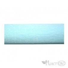 Бумага гофрированная Голубая светлая 50*250см. ВТ-145 INTELLIGENT