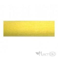 Бумага гофрированная Желтая золотистая 50*250см. ВТ-140 INTELLIGENT