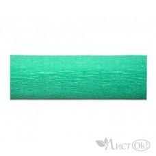 Бумага гофрированная Зеленый мятный 50*250см. ВТ-138 INTELLIGENT