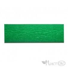Бумага гофрированная Зеленый яркий 50*250см. BT-155 INTELLIGENT