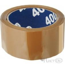 Клейкая лента 48*66 коричневая 40мкм 29344 Unibob