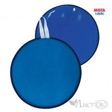 Ледянка мягкая диаметр 35см, цвет: голубой МТ16117 Мега Тойс