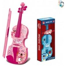 Скрипка эл., звук, в ассорт., эл.пит.2*AA не вх.в комплект, кор. 200513256 Наша игрушка