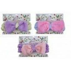 Набор косметическая повязка для волос Бантик, 1шт Т18550 Lukky Fashion