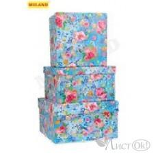 Коробка подарочная квадратная 15,5*15,5*9см