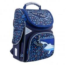 Ранец школьный Education каркасний 5001-9 Shark, 34х26х13 GO21-5001S-9 GoPack
