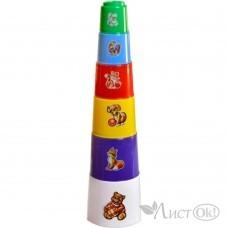 Игрушка Пирамида - Пасочки в пакете, 35*9см Т2032 Технок