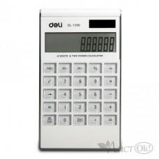 Калькулятор 12 разр. 180х110х15 белый 1256 DELI