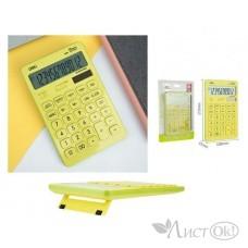 Калькулятор 12-разр. 108*15*175 Touch желтый EM01551 DELI